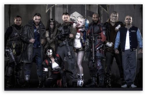 Suicide Squad 2016 Movie ❤ 4K UHD Wallpaper for Wide 16:10 5:3 Widescreen WHXGA WQXGA WUXGA WXGA WGA ; 4K UHD 16:9 Ultra High Definition 2160p 1440p 1080p 900p 720p ; Mobile 5:3 16:9 - WGA 2160p 1440p 1080p 900p 720p ;
