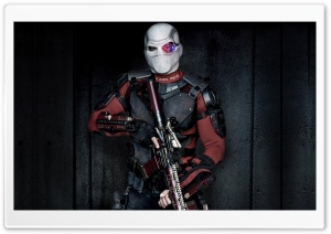 Suicide Squad Will Smith Deadshot HD Wide Wallpaper for Widescreen