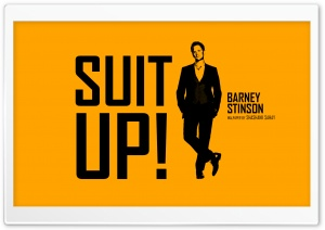 Suit Up HD Wide Wallpaper for Widescreen