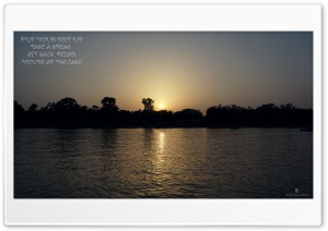 Sukhna_Lake_Chandigarh HD Wide Wallpaper for Widescreen