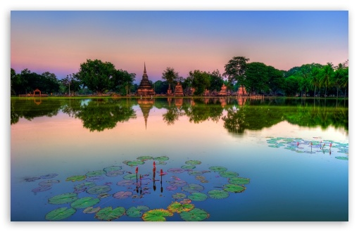 Sukhothai Historical Park, Thailand HD wallpaper for Wide 16:10 5:3 Widescreen WHXGA WQXGA WUXGA WXGA WGA ; HD 16:9 High Definition WQHD QWXGA 1080p 900p 720p QHD nHD ; Standard 4:3 5:4 3:2 Fullscreen UXGA XGA SVGA QSXGA SXGA DVGA HVGA HQVGA devices ( Apple PowerBook G4 iPhone 4 3G 3GS iPod Touch ) ; Tablet 1:1 ; iPad 1/2/Mini ; Mobile 4:3 5:3 3:2 16:9 5:4 - UXGA XGA SVGA WGA DVGA HVGA HQVGA devices ( Apple PowerBook G4 iPhone 4 3G 3GS iPod Touch ) WQHD QWXGA 1080p 900p 720p QHD nHD QSXGA SXGA ;