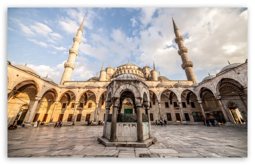 Download Sultan Ahmed Mosque Istanbul Turkey HD Wallpaper