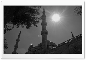 Sultan Sulaiman Mosque HD Wide Wallpaper for Widescreen