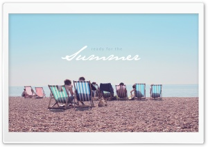 Summer Beach HD Wide Wallpaper for Widescreen