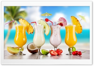 Summer Cocktails Ultra HD Wallpaper for 4K UHD Widescreen desktop, tablet & smartphone