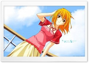 Summer Day Anime HD Wide Wallpaper for Widescreen