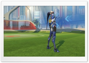Summer Games Widowmaker HD Wide Wallpaper for Widescreen