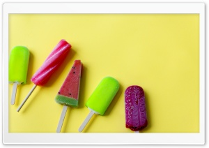 Summer Popsicles HD Wide Wallpaper for Widescreen