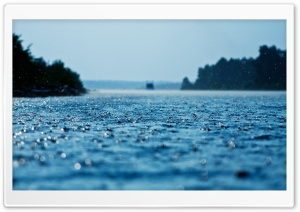 Summer Rain HD Wide Wallpaper for 4K UHD Widescreen desktop & smartphone
