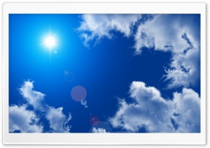 Summer Sky HD Wide Wallpaper for Widescreen