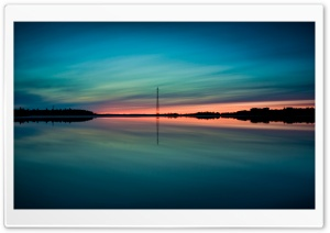 Summer Sunset Reflection HD Wide Wallpaper for Widescreen