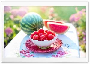 Summer Watermelon Ultra HD Wallpaper for 4K UHD Widescreen desktop, tablet & smartphone