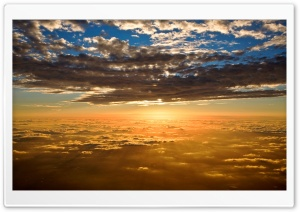 Sun And Sky HD Wide Wallpaper for Widescreen