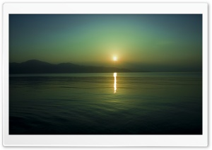 Sun Reflection, Sunset HD Wide Wallpaper for 4K UHD Widescreen desktop & smartphone