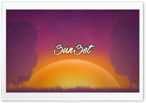 Sun Set HD Wide Wallpaper for Widescreen