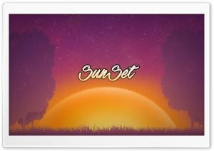 Sun Set Ultra HD Wallpaper for 4K UHD Widescreen desktop, tablet & smartphone