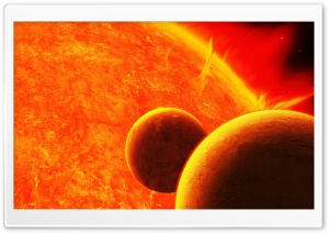 Sun Surface HD Wide Wallpaper for Widescreen