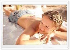 Sunbathing Ultra HD Wallpaper for 4K UHD Widescreen desktop, tablet & smartphone
