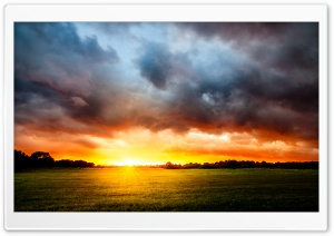Sunlight, Stormy Clouds HD Wide Wallpaper for 4K UHD Widescreen desktop & smartphone