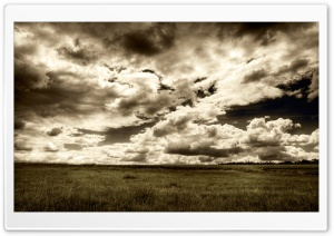 Sunlit Clouds HD Wide Wallpaper for Widescreen