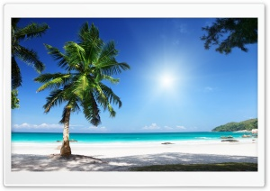 Sunny Beach HD Wide Wallpaper for Widescreen