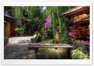 Sunny Day in Lijiang HD Wide Wallpaper for Widescreen