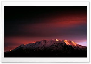 Sunrise - Mount Timpanogos HD Wide Wallpaper for Widescreen