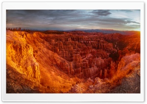 Sunrise at Bryce Canyon HD Wide Wallpaper for 4K UHD Widescreen desktop & smartphone