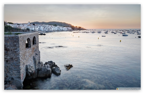 Download Sunrise At Calella de Palafrugell Catalonia HD Wallpaper
