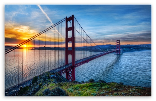 Sunrise At San Francisco HD wallpaper for Wide 16:10 5:3 Widescreen WHXGA WQXGA WUXGA WXGA WGA ; HD 16:9 High Definition WQHD QWXGA 1080p 900p 720p QHD nHD ; UHD 16:9 WQHD QWXGA 1080p 900p 720p QHD nHD ; Standard 4:3 5:4 3:2 Fullscreen UXGA XGA SVGA QSXGA SXGA DVGA HVGA HQVGA devices ( Apple PowerBook G4 iPhone 4 3G 3GS iPod Touch ) ; Tablet 1:1 ; iPad 1/2/Mini ; Mobile 4:3 5:3 3:2 16:9 5:4 - UXGA XGA SVGA WGA DVGA HVGA HQVGA devices ( Apple PowerBook G4 iPhone 4 3G 3GS iPod Touch ) WQHD QWXGA 1080p 900p 720p QHD nHD QSXGA SXGA ;