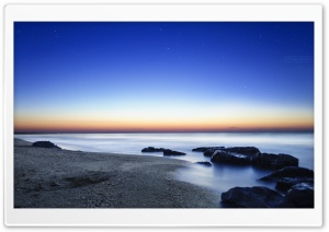Sunrise at the Beach HD Wide Wallpaper for Widescreen