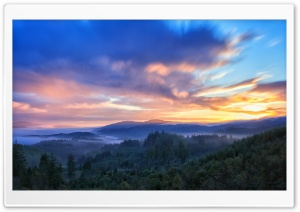 Sunrise Clouds HD Wide Wallpaper for Widescreen