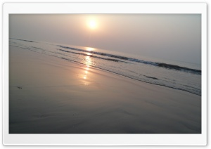 Sunrise In Beach HD Wide Wallpaper for Widescreen