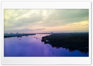 Sunrise in Sai Gon Ultra HD Wallpaper for 4K UHD Widescreen desktop, tablet & smartphone