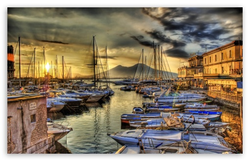 Sunrise In The Naples Docks ❤ 4K UHD Wallpaper for Wide 16:10 5:3 Widescreen WHXGA WQXGA WUXGA WXGA WGA ; 4K UHD 16:9 Ultra High Definition 2160p 1440p 1080p 900p 720p ; Mobile 5:3 16:9 - WGA 2160p 1440p 1080p 900p 720p ;