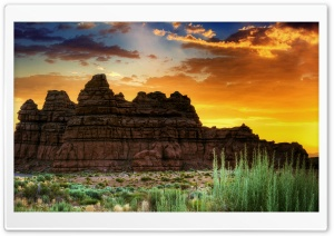 Sunrise In Utah HD Wide Wallpaper for 4K UHD Widescreen desktop & smartphone