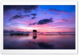 Sunrise in Vietnam HD Wide Wallpaper for Widescreen