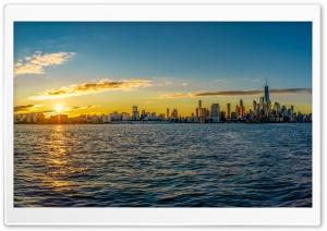 Sunrise, Manhattan, New York City Ultra HD Wallpaper for 4K UHD Widescreen desktop, tablet & smartphone