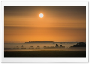 Sunrise, Morning Mist HD Wide Wallpaper for 4K UHD Widescreen desktop & smartphone