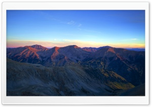 Sunrise On The High Country HD Wide Wallpaper for Widescreen