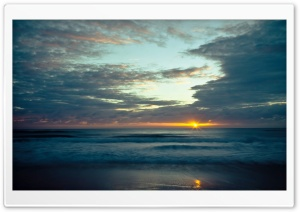 Sunrise Reflection HD Wide Wallpaper for Widescreen