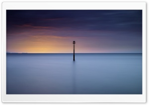 Sunrise, Sea, Skyline Ultra HD Wallpaper for 4K UHD Widescreen desktop, tablet & smartphone