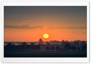 Sunrise, Skyline HD Wide Wallpaper for 4K UHD Widescreen desktop & smartphone