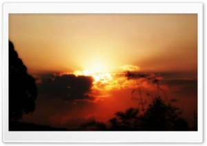 Sunset - Taguatinga-DF HD Wide Wallpaper for Widescreen