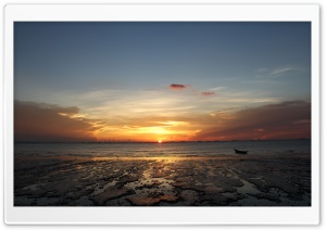 Sunset at Thailand HD Wide Wallpaper for Widescreen