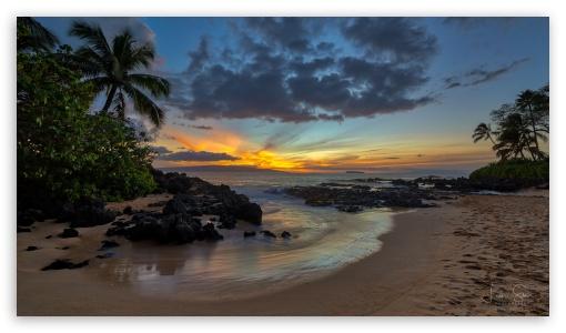 Sunset Beach Hawaii UltraHD Wallpaper for 8K UHD TV 16:9 Ultra High Definition 2160p 1440p 1080p 900p 720p ; UHD 16:9 2160p 1440p 1080p 900p 720p ; Mobile 16:9 - 2160p 1440p 1080p 900p 720p ;