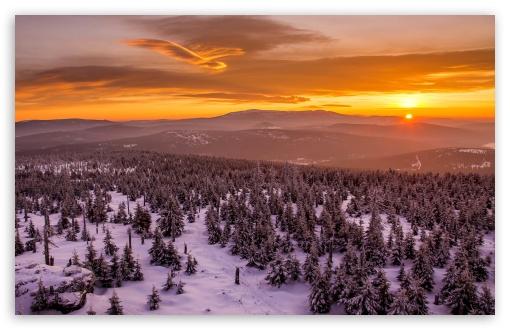 Sunset Behind Mountains Forest Snow Clouds ❤ 4K UHD Wallpaper for Wide 16:10 5:3 Widescreen WHXGA WQXGA WUXGA WXGA WGA ; 4K UHD 16:9 Ultra High Definition 2160p 1440p 1080p 900p 720p ; Standard 4:3 5:4 3:2 Fullscreen UXGA XGA SVGA QSXGA SXGA DVGA HVGA HQVGA ( Apple PowerBook G4 iPhone 4 3G 3GS iPod Touch ) ; Tablet 1:1 ; iPad 1/2/Mini ; Mobile 4:3 5:3 3:2 16:9 5:4 - UXGA XGA SVGA WGA DVGA HVGA HQVGA ( Apple PowerBook G4 iPhone 4 3G 3GS iPod Touch ) 2160p 1440p 1080p 900p 720p QSXGA SXGA ;