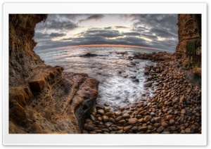 Sunset Cliffs HD Wide Wallpaper for Widescreen