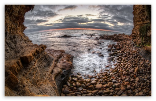 Sunset Cliffs HD desktop wallpaper