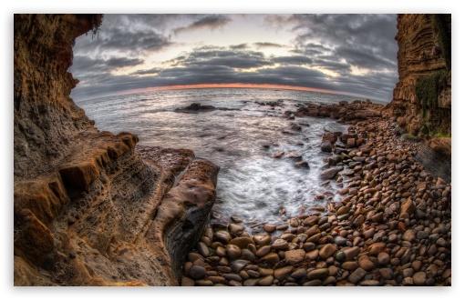 Download Sunset Cliffs UltraHD Wallpaper